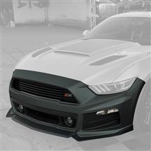 Mustang Roush Complete Front Fascia Kit Guard Green (2015)