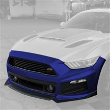 Mustang Roush Complete Front Fascia Kit Deep Impact Blue (2015)
