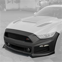 Mustang Roush Complete Front Fascia Kit Magnetic Gray (2015)
