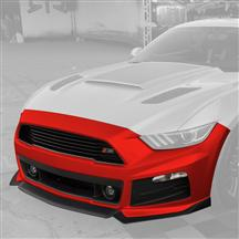 Mustang Roush Complete Front Fascia Kit Race Red (2015)