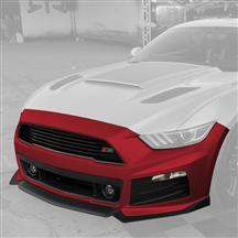 Mustang Roush Complete Front Fascia Kit Ruby Red (2015)