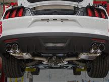 Mustang Roush Axle Back w/ Quad Tips (2015) EcoBoost Fastback