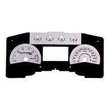 SVT Raptor Silver Face Gauge Kit (11-14)