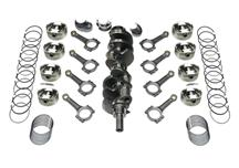 Mustang Scat 393 Stroker Kit - Dished Pistons, I-Beam Rods (79-95)