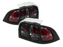 Mustang SVE Smoked Euro Tail Lights (94-98)