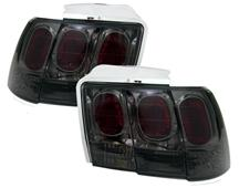Mustang Smoked Altezza Tail Lights (99-04)