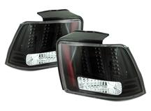 Mustang Smoked Led Euro Tail Lights (99-04)