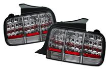 Mustang Smoked Led Tail Lights (05-09)