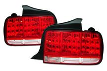 Mustang SVE Red Led Tail Lights (05-09)