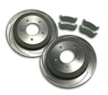F-150 SVT Lightning SSBC Rear Short Stop Brake Kit (99-04)