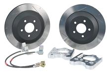 "Mustang Steeda 13"" Rear Brake Rotor Upgrade Kit (05-14)"