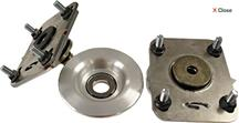 Mustang Steeda Heavy Duty Upper Strut Mount Pair (05-10)