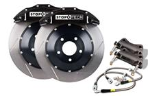 "Mustang Stop Tech 15"" Front Big Brake Kit w/ 6 Piston Calipers Black (07-14)"