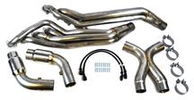 "Mustang GT 500 Headers With Catted 3"" X-Pipe (13-14)"