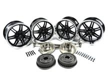 Mustang SVE 10th Anniversary Wheel & 5 Lug Conversion Kit Black (79-93)