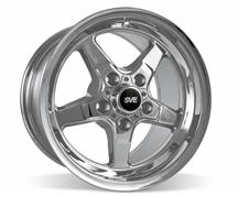 Mustang SVE Drag Wheel 15X10 Chrome (05-14)