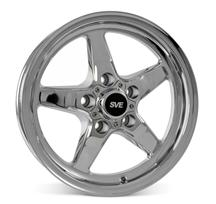 Mustang SVE Drag Wheel 15X3.75 Chrome (94-10)