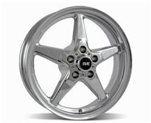 Mustang SVE Drag Wheel 17X4.5 Chrome (94-14)