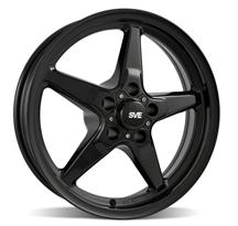 Mustang SVE Drag Wheel 17X4.5 Gloss Black (94-14)