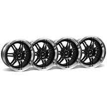 Mustang SVE Anniversary Wheel Kit - 17x9/10 Black (94-04)