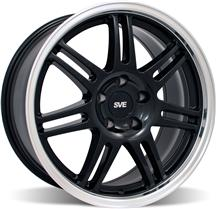 Mustang SVE Anniversary Wheel - 18x9 Black W/ Machined Lip (94-04)