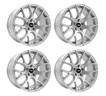 2005-14 Mustang Silver SVE Drift Wheel Kit 19x9.5