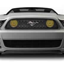 Mustang Yellow Fog Light Tint (13-14)