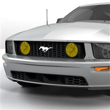 Mustang Yellow Fog Light Tint (05-09)