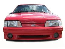 Mustang Smoked Fog Light Tint (87-93)