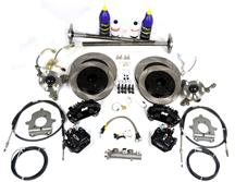 Mustang SVE  5-Lug Conversion Kit, 28 Spline Black (87-92)
