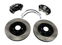 "Mustang SVE 13"" Cobra Style Front Brake Kit w/ Stock Rotors Black (94-04)"