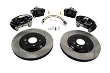 "Mustang SVE 13"" Cobra Style Front & Rear Brake Kit  Black (94-04)"