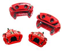 Mustang SVE Cobra Style Front & Rear Brake Caliper Kit Red (94-04)