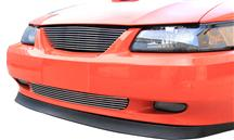 Mustang SVE  Billet Upper & Lower Grille Kit w/o Pony Polished (99-04)