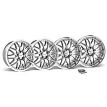 Mustang SVE Series 3 Wheel & Lug Nut Kit - 20x8.5/10 Gunmetal w/ Mirror Lip (05-14)
