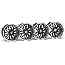 Mustang SVE Series 3 Wheel Kit - 19x9/10 Black (05-15)