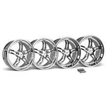 Mustang SVE Series 2 Wheel & Lug Nut Kit - 20X8.5/10 Chrome (15-16)