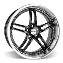 Mustang SVE Series 2 Wheel - 20x10 Black w/ Mirror Lip (05-15)