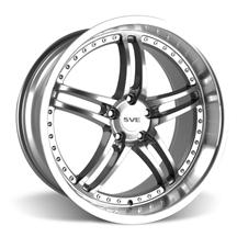 Mustang SVE Series 2 Wheel - 20x10 Gunmetal w/ Mirror Lip (05-15)