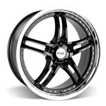 Mustang SVE Series 2 Wheel - 20x8.5 Black w/ Mirror Lip (05-14)