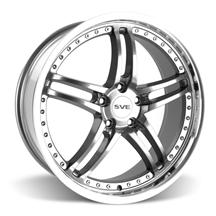 Mustang SVE Series 2 Wheel - 20x8.5 Gunmetal w/ Mirror Lip (05-15)