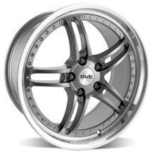 Mustang SVE Series 2 Wheel - 18x9 Gun Metal w/ Polished Lip (94-04)