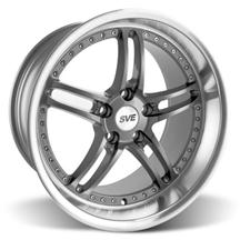 "Mustang SVE Series 2 Wheel - 19x10"" Gunmetal w/ Polished Lip (05-15)"
