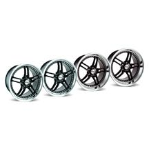 Mustang SVE Series 2 Wheel Kit - 19x9/10 Black w/ Polished Lip (05-15)