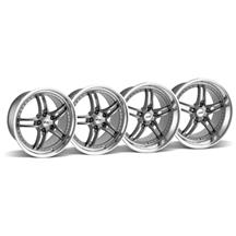 Mustang SVE Series 2 Wheel Kit - 19x9/10 Gunmetal w/ Polished Lip (05-14)