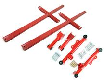 Mustang SVE Rear Control Arm And Subframe Connector Kit Red (79-04)
