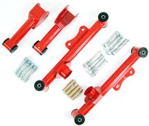 Mustang SVE Tubular Rear Upper & Lower Control Arm Kit Red (79-04)