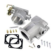 Mustang SVE 75mm Throttle Body & Plenum Kit Satin (96-04)