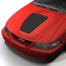Mustang SVE 35th Anniversary Style Hood Decal Flat Black (99-04)