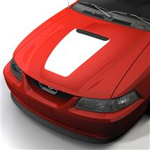 Mustang SVE 35th Anniversary Style Hood Decal White (99-04)